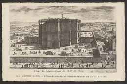 D 75 - ANCIEN PARIS - 642 - L'Observatoire - Début XVIIIème Siècle - France