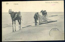 Cpa   De Belgique Ostende  Pêcheurs De Crevettes    NCL102 - Oostende