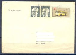 D495- Postal Used Cover. Posted From Germany To Pakistan.Transport. Bus. - Germany