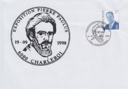 Enveloppe (1998-09-19, 6000 Charleroi) - Pierre Paulus - 03 - Poststempel
