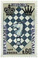 Ref. 353242 * HINGED *  - FRANCE . 1966. INTERNATIONAL CHESS FESTIVAL IN LE HAVRE. FESTIVAL INTERNACIONAL DE AJEDREZ EN - France