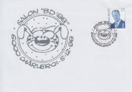 Enveloppe (1998-12-05, 6000 Charleroi) - Cubitus ( BD ) - 03 - Marcofilia