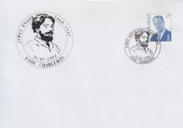 Enveloppe (1999-05-16, 6000 Charleroi) - J.Ensor - 03 - Marcofilia