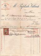 """Austria - Villach - Fattura Della Ditta """" M. Pufitsch """"  Datata  2 Dicembre 1900 - (FDC4992) - Austria"""
