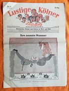 JOURNAL - LUSTIGE KÖLNER ZEITUNG - N°12 - 18 MARS 1942 - HUMOUR ET PROPAGANDE - POLITIQUE - SATIRIQUE - Revues & Journaux