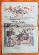JOURNAL - LUSTIGE KÖLNER ZEITUNG - N°17 - 23 AVRIL 1941 - HUMOUR ET PROPAGANDE - POLITIQUE - SATIRIQUE - Revues & Journaux