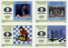 Ref. 30717 * NEW *  - EQUATORIAL GUINEA . 1996. CHESS. AJEDREZ - Equatorial Guinea
