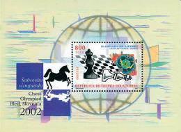 Ref. 128570 * NEW *  - EQUATORIAL GUINEA . 2003. CHESS OLYMPIAD IN SLOVENIA. OLIMPIADA DE AJEDREZ EN ESLOVENIA - Guinea Ecuatorial