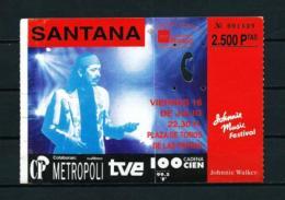 CARLOS SANTANA - Entradas A Conciertos