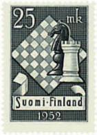 Ref. 46430 * NEW *  - FINLAND . 1952. 10th CHESS HELSINKI TOURNAMENT. 10 TORNEO DE AJEDREZ EN HELSINKI - Finland