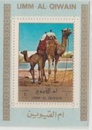 Umm Al Qiwain  Camels  Deluxe Sheet  #  92857 - Stamps
