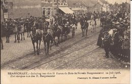 BRASSCHAAT: Inhaling Van Den H. Baron Du Bois De Nevele Burgemeester, 12 Juli 1908, 3. Het Vierspan Van Den Burgemeester - Brasschaat