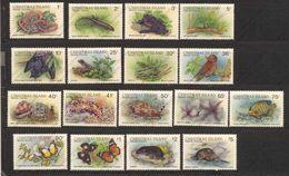 Christmas Island, Yvert 232/243+249/252+297, Scott 196/209, SG 229/244, MNH - Christmas Island