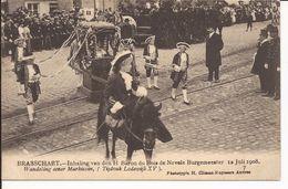 BRASSCHAAT: Inhaling Van Den H. Baron Du Bois De Nevele Burgemeester, 12 Juli 1908  7. Wandeling Eener Markiezin - Brasschaat