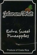 # PINEAPPLE JALARAM Fruit Tag Balise Etiqueta Anhanger Ananas Pina Costa Rica - Fruits & Vegetables