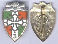 Insigne Du 3e Régiment D'Artillerie - Esercito