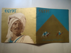 EGYPT, THE LAND OF SUNSHINE - EGIPTIAN HOTELS LTD, 40s. COLOR ILLUSTRATIONS BY WILLY FRIEDRICH BURGER. 16 PAGES. - Reiseprospekte