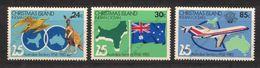 Christmas Island, Yvert 179/181, Scott 142, SG 175/177, MNH - Christmas Island