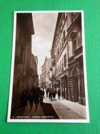 Cartolina Oristano - Corso Umberto I 1935 - Oristano