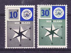 Europa Cept 1957 Netherlands 2v ** Mnh (36234) - Europa-CEPT