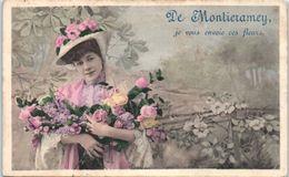 10 - MONTIERRAMEY --  Je Vous Envoie Ces Fleurs - France