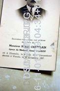 Hubert Chatelain Gengou Ellemelle 1879 Warzée 1957 - Ouffet