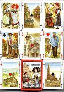 Costumes ALSACIENS Tradition Costume  Jeu De 54 Cartes - 54 Karten