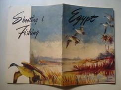 N. W. STREKALOVSKY - SHOOTIG & FISHING IN EGYPT - EGIPTIAN STATE TOURIST DEPT., 1949. 44 PAGES. B/W PHOTOS. - Exploration/Travel