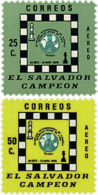 Ref. 48389 * NEW *  - EL SALVADOR . 1977. CHESS OLYMPIAD IN TRIPOLI. OLIMPIADA DE AJEDREZ EN TRIPOLI - El Salvador