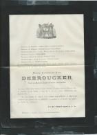 Lederzeele  Le  11/02/1885  Décés De Marie-catherine-rose Debroucker Veuve De Eugene-françois Verlande- Pb15021 - Avvisi Di Necrologio