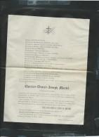 Saint Omer Le 3/07/1883 Deces De  Charles-désiré-joseph Martel - Pb15025 - Décès