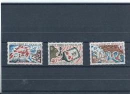 SPM 1967 - YT N° 376/378 NEUF AVEC CHARNIERE * (MLH) GOMME D'ORIGINE TTB - St.Pierre Et Miquelon