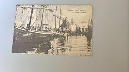 CARTOLINA TRIESTE .- CANALE GRANDE E CHIESA S. ANTONIO - Trieste