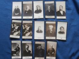 Lot  14 Chromos Musique, Compositeur, Musicien...,  2e Collection Félix Potin  L313 (2) - Kaufmanns- Und Zigarettenbilder