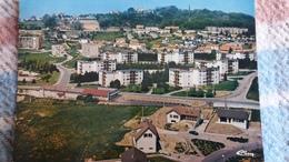 CPSM SANVIGNES LES MINES 71  VUE GENERALE AERIENNE ED CIM 1987 - Andere Gemeenten