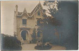 CPA Photo Maison Architecture Originale La Villa Saint Jacques à Localiser - A Identifier