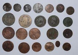 Pièce De Monnaies Divers - Lot De 23 Coin France Italie Pays Divers - Coins