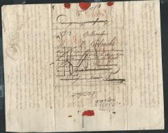 """Lac De Douay - Marque Rouge 57 DOUAY - + 3 Marques De Déboursé  """" DEB 128 Hambourg"""" LIRE DETAIL - Pb151 - Marcophilie (Lettres)"""