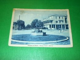 Cartolina Miramare Di Rimini - Albergo Tonini - Rotonda 1947 - Rimini