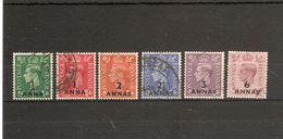 BRITISH POSTAL AGENCIES IN EASTERN ARABIA 1948 VALUES TO 6a On 6d BETWEEN SG 16 And SG 22  FINE USED Cat £23+ - Unclassified