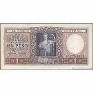 TWN - ARGENTINA 260b - 1 Peso 1951 Serie B - Signatures: Palarea & Revestido AVF - Argentina