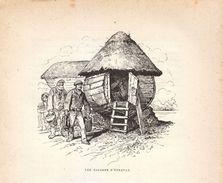 Vers 1890 - Gravure Sur Bois - Étretat (Seine-Maritime) - Les Caloges - FRANCO DE PORT - Estampes & Gravures