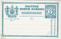 CTN49-12 - BRITISH NORTH BORNEO EP CP NEUVE - North Borneo (...-1963)