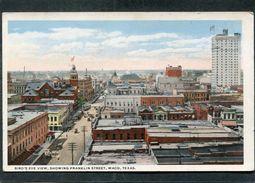 CPA - WACO - Bird's Eye View, Showing Franklin Street - Waco