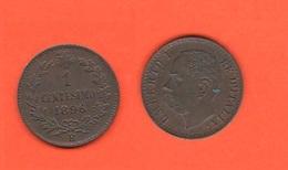 Un Centesimo 1896 R Umberto I° Regno D'Italia - 1861-1946 : Regno