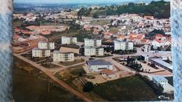 CPSM SANVIGNES LES MINES 71  VUE GENERALE AERIENNE ED CIM 1987 AUTRE MODELE CITE - France
