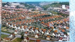 CPSM MERLEBACH FREYMING MOSELLE CITE SAINTE BARBE VUE AERIENNE ED CIM 1987 - Freyming Merlebach