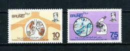 Brunei  Nº Yvert  278/9  En Nuevo - Brunei (1984-...)