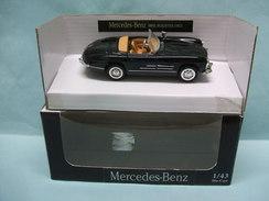 NewRay - MERCEDES BENZ 300 SL 1957 Roadster Noir BO 1/43 - Andere
