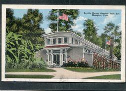 CPA - Reptile House, Overton Park Zoo, MEMPHIS, Tenn. - Memphis